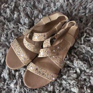 Laura Ashley Beige sandals size 9